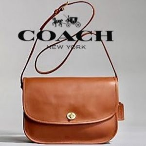 ❤️Vintage Coach Classic City Bag 9790 British Tan